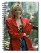 Debbie Gibson Spiral Notebook