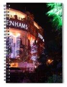 Debenhams Bournemouth At Christmas Spiral Notebook