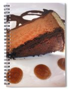 Decadent Delight Dessert  Spiral Notebook