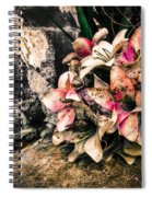Decayed Pink Spiral Notebook