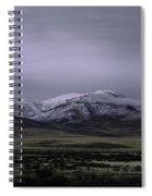 December In Orovada 1 Spiral Notebook