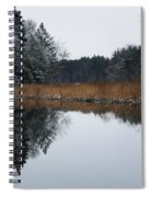 December Landscape Spiral Notebook