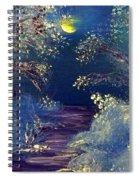 December Night Spiral Notebook