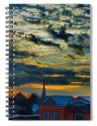 December Sunrise In Annapolis Spiral Notebook
