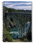 Deception Pass Spiral Notebook