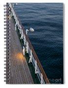 Deck Sea Spiral Notebook