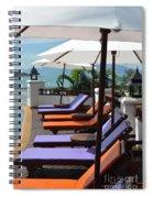 Deckchairs Spiral Notebook