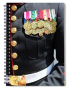Decked Out In Courage Spiral Notebook