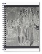 Declaration Of Independence In Negative Spiral Notebook