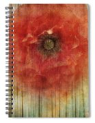 Decor Poppy Blossom Spiral Notebook