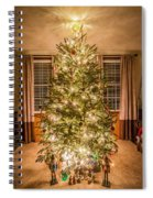Decorated Christmas Tree Spiral Notebook