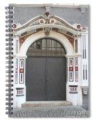 Decorated Old Door Spiral Notebook