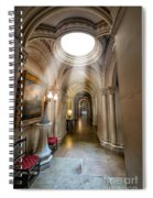 Decorative Hall Spiral Notebook