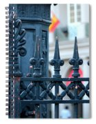 Decorative Iron Fence In New Orleans Spiral Notebook