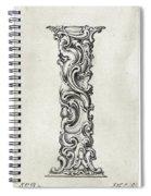 Decorative Letter Type I 1650 Spiral Notebook