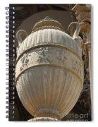 Decorative Urn - Palace Of Fine Arts Sf Spiral Notebook