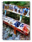 Dedicated To Our Love  Spiral Notebook