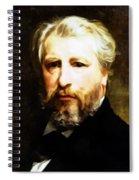 Dedication To William Adolphe Bouguereau Spiral Notebook