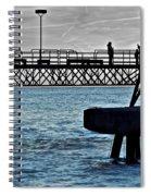 Deep Blue Sea Spiral Notebook
