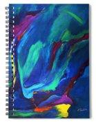 Deep Blue Thoughts Spiral Notebook