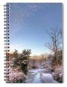 Deep Creek In Deep Sleep Spiral Notebook