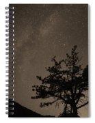 Deep Deep Deep Into The Night  Spiral Notebook