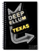 Deep Ellum In Yellow Spiral Notebook