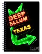 Deep Ellum Spiral Notebook