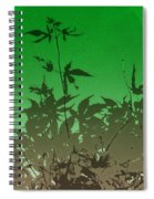 Deep Green Haiku Spiral Notebook