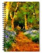 Deep In A Forest Spiral Notebook