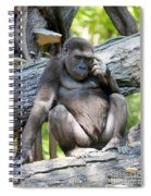 Deep In Thought Spiral Notebook