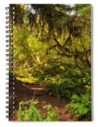 Deep Into The Hoh Rain Forest Spiral Notebook