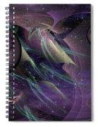 Deep Purp Spiral Notebook