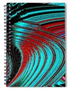 Deep Sea Abstract Spiral Notebook