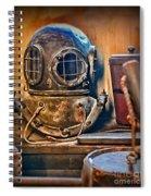 Deep Sea Diver Spiral Notebook