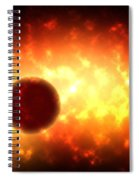 Deep Space Activity Digital Painting Spiral Notebook