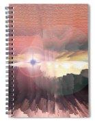 Deep Space Fantasy Spiral Notebook