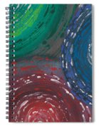 Deepen Abstract Shapes Spiral Notebook