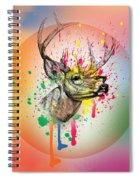 Deer 7 Spiral Notebook