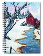 Deer At The Grist Mill Spiral Notebook