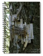 Deer Blind 01 Spiral Notebook
