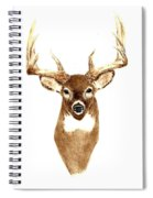 Deer - Front View Spiral Notebook