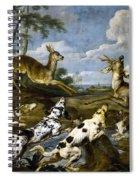 Deer Hunting Spiral Notebook