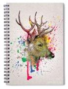 Deer  Spiral Notebook