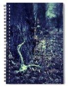 Deer Skull In Forest Spiral Notebook