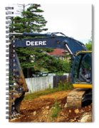 Deere For Hire Spiral Notebook