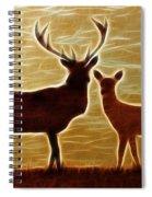 Deers Lookout Spiral Notebook