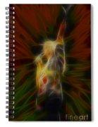 Def Leppard-adrenalize-joe-gb22-fractal-1 Spiral Notebook