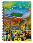 Defending The Big House Spiral Notebook