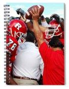 Defensive Huddle Spiral Notebook
